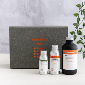 Conscious Man Kit and Caboodle Gift Set Origins of Beauty 'Guilt Free Beauty and Wellbeing'