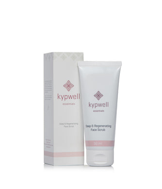 Kypwell Deep & Regenerating Face Scrub - 50ml - Origins of Beauty 'Guilt Free Beauty and Wellbeing'
