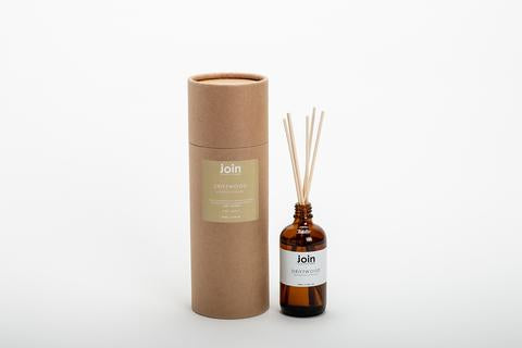 Join Luxuray Essential Oil Botanical Diffuser - Driftwood Origins of Beauty 'Guilt Free Beauty and Wellbeing'