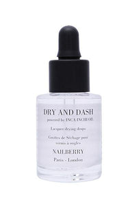 Nailberry Dry and Dash Lacquer Drying Drops - Origins of Beauty 'Guilt Free Beauty and Wellbeing'