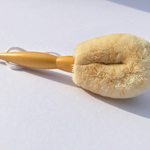 ELYTRUM Small Sisal Body Brush - Origins of Beauty 'Guilt Free Beauty and Wellbeing'