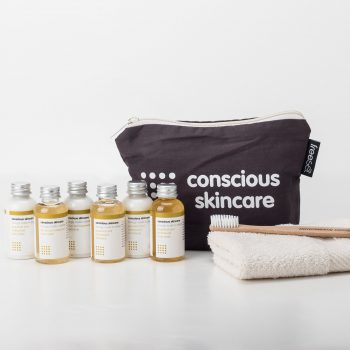 Conscious Skincare Organic Mini Festival Kit Origins of Beauty 'Guilt Free Beauty and Wellbeing'