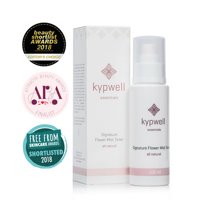 Kypwell Signature Flower Mist Toner - 100ml - Origins of Beauty 'Guilt Free Beauty and Wellbeing'