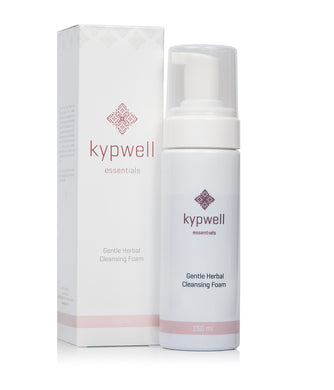 Kypwell Gentle Herbal Cleansing Foam - 150ml - Origins of Beauty 'Guilt Free Beauty and Wellbeing'