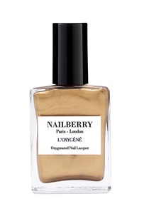 Nailberry L'oxygéné 15 ml - Gold Leaf - Origins of Beauty 'Guilt Free Beauty and Wellbeing'