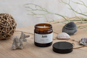 Join Apothecary High Tide Scented Soy Wax Candle Origins of Beauty 'Guilt Free Beauty and Wellbeing'
