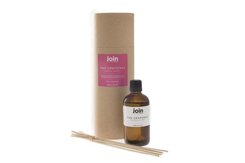 Join Luxury Essential Oil Botanical Diffuser 98ml - Pink Grapefruit - Origins of Beauty 'Guilt Free Beauty and Wellbeing'