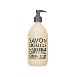 Compagnie De Provence Karite Liquid Marseille Soap - 495ml Shea Butter Origins of Beauty 'Guilt Free Beauty and Wellbeing'