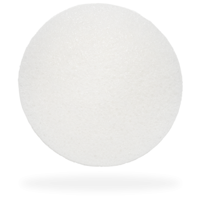 The Konjac Sponge Company Round Baby Face Sponge Origins of Beauty 'Guilt Free Beauty and Wellbeing'
