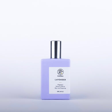 HAOMA Lavender Organic Single Note Eau De Parfum - 50ml - Origins of Beauty 'Guilt Free Beauty and Wellbeing'