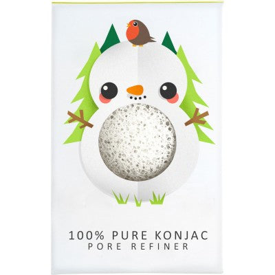 The Konjac Sponge Company Snowman Mini Pore Refiner - Origins of Beauty 'Guilt Free Beauty and Wellbeing'