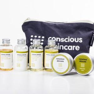 Conscious Skincare Mini Spa Set - Origins of Beauty 'Guilt Free Beauty and Wellbeing'