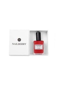 Nailberry L'oxygéné 15ml - Mystique Red - Origins of Beauty 'Guilt Free Beauty and Wellbeing'