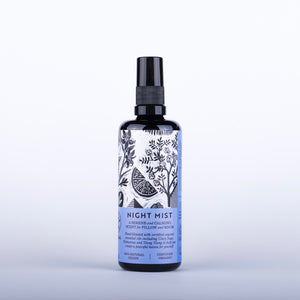 HAOMA Organic Night Mist - 100ml Origins of Beauty 'Guilt Free Beauty and Wellbeing'