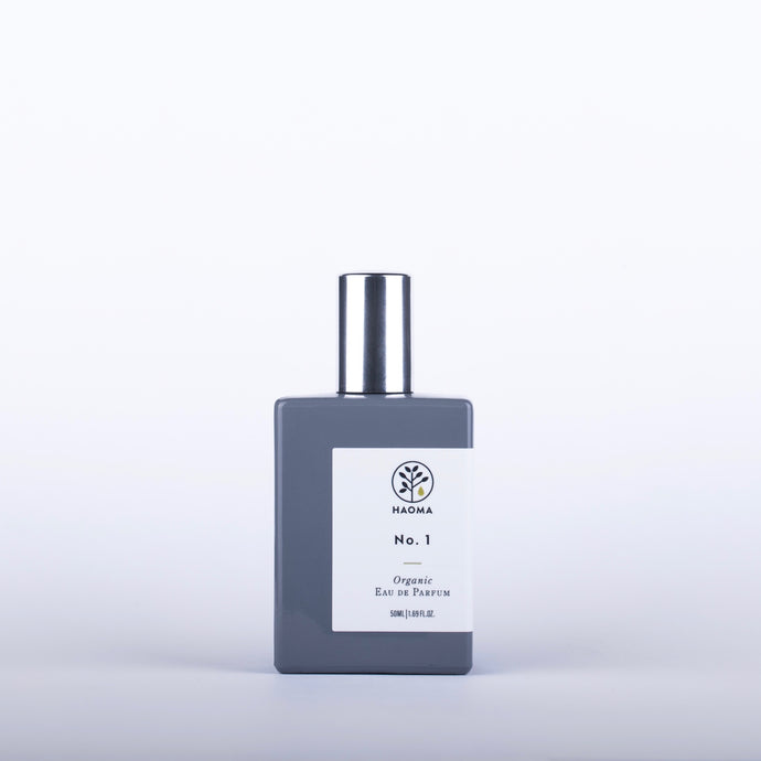 HAOMA No 1 Organic Eau De Parfum - 50ml - Origins of Beauty 'Guilt Free Beauty and Wellbeing'