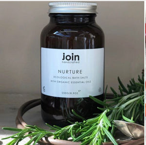 Join Handcrafted London Luxury Ecological Bath Salt - Nurture Origins of Beauty 'Guilt Free Beauty and Wellbeing'