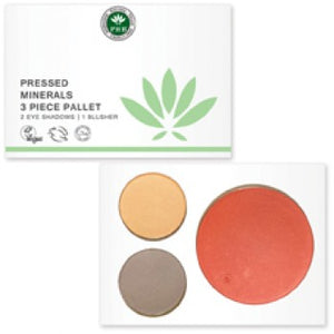 Pressed Mineral 3 Piece Palettes Origins of Beauty 'Guilt Free Beauty and Wellbeing'