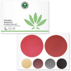 Pressed Mineral 6 Piece Palettes Origins of Beauty 'Guilt Free Beauty and Wellbeing'
