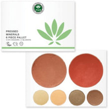 Pressed Mineral 6 Piece Palettes - Origins of Beauty 'Guilt Free Beauty and Wellbeing'