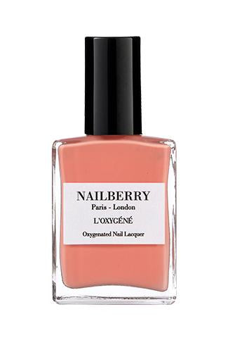 Nailberry L'oxygene 15ml - Peony Blush - Origins of Beauty 'Guilt Free Beauty and Wellbeing'