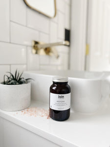 Join Handcrafted London Luxury Ecological Bath Salt - Restore - Origins of Beauty 'Guilt Free Beauty and Wellbeing'