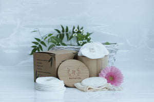 Nurturify Reusable Bamboo Cotton Pads Origins of Beauty 'Guilt Free Beauty and Wellbeing'