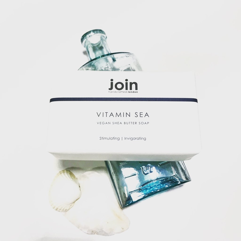 Join Handcrafted Shea Butter Soap 200g - Vitamin Sea - Origins of Beauty 'Guilt Free Beauty and Wellbeing'