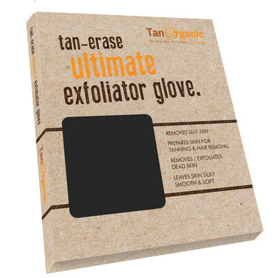 TanOrganic - Tan Erase Ultimate Exfoliator Glove Origins of Beauty 'Guilt Free Beauty and Wellbeing'