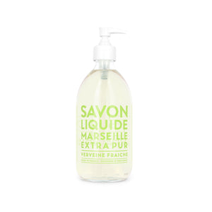Compagnie De Provence Extra Pur Liquid Marseille 500ml - Fresh Verbena - Origins of Beauty 'Guilt Free Beauty and Wellbeing'