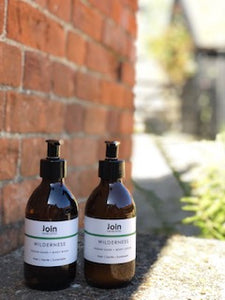 Join Handcrafted London Hand and Body Wash - Wilderness Origins of Beauty 'Guilt Free Beauty and Wellbeing'