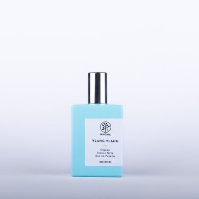 HAOMA Ylang Ylang Organic Single Note Eau De Parfum - 50ml Origins of Beauty 'Guilt Free Beauty and Wellbeing'