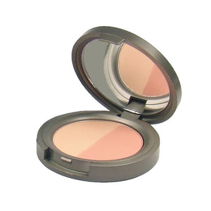 BWC Mineral Duo Blusher Pressed 4g - Sweet Apricot - Origins of Beauty 'Guilt Free Beauty and Wellbeing'