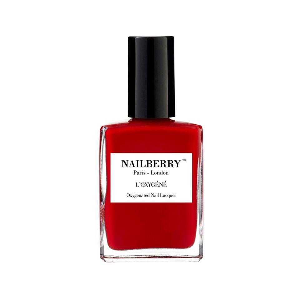 Nailberry L'oxygene 15ml - Rouge - Origins of Beauty 'Guilt Free Beauty and Wellbeing'