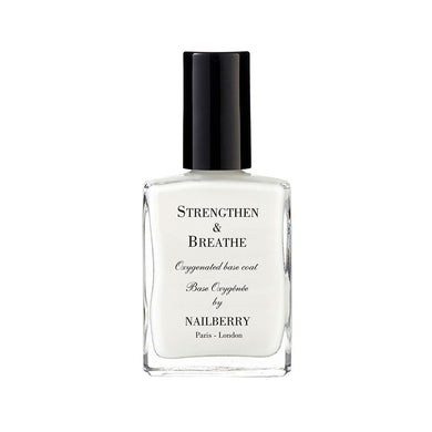 Nailberry Oxygenated Strengthen & Breathe 15ml - Base Coat Origins of Beauty 'Guilt Free Beauty and Wellbeing'