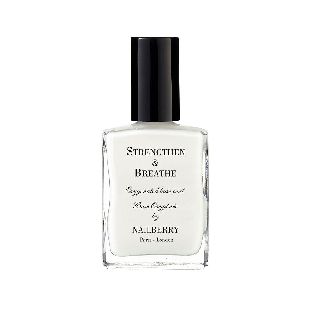 Nailberry Oxygenated Strengthen & Breathe 15ml - Base Coat