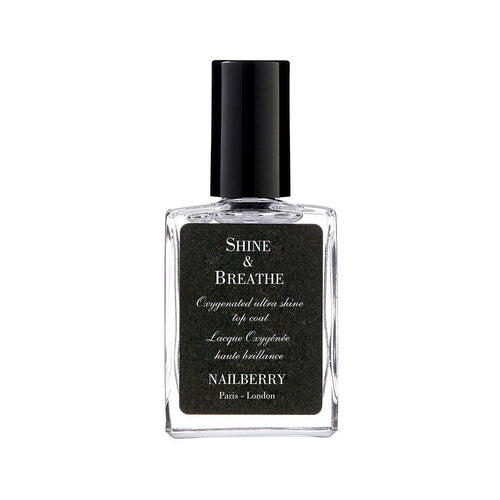 Nailberry Shine & Breathe 15ml - Top Coat
