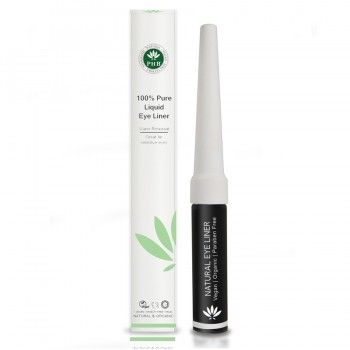 PHB 100% Pure Liquid Eyeliner - Origins of Beauty 'Guilt Free Beauty and Wellbeing'