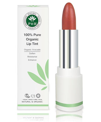 PHB 100% Pure Organic Lip Tint Origins of Beauty 'Guilt Free Beauty and Wellbeing'