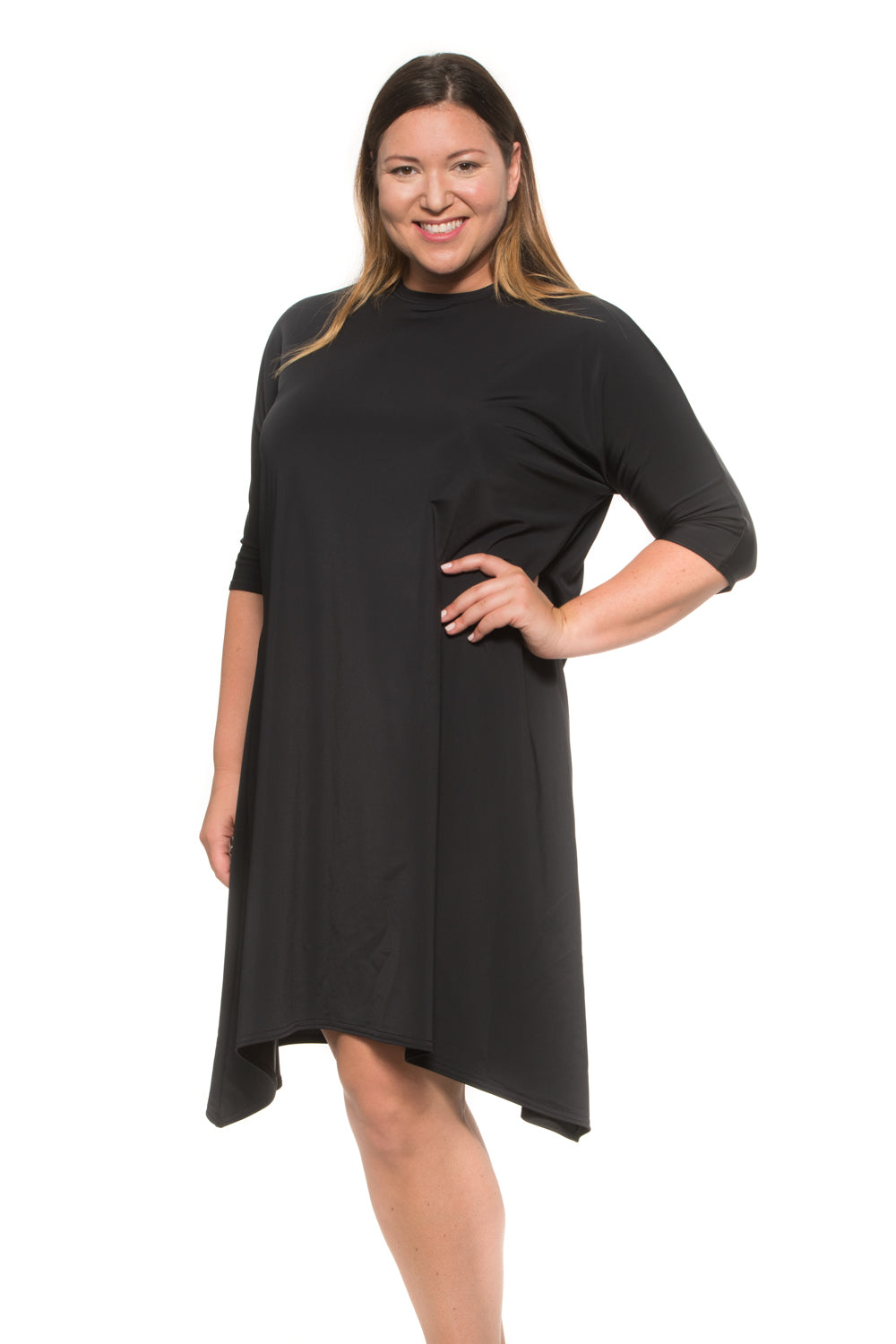 Black Swing Dress PLUS