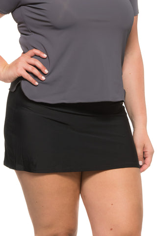 Ladies Mini Skirt Plus