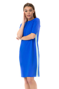 Blue Racer Swim Dress