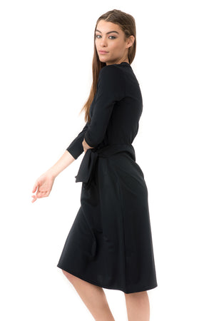 Black Sash Dress
