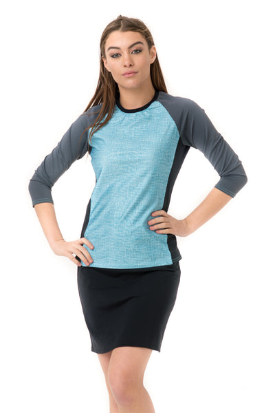 Blue Lagoon Rashguard Top