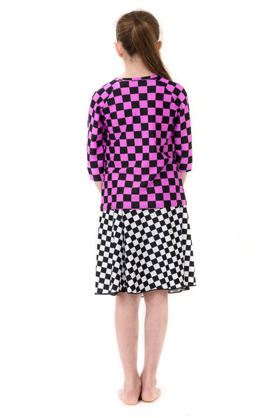 Racer Checkered 2-Piece