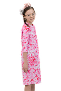 Kids Pink Star FLOW Dress