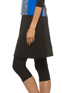 Swim Skirt with Leggings Attached (Lifeguard Length)