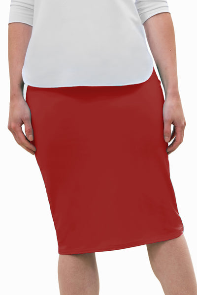 Ladies Pencil Swim Skirt