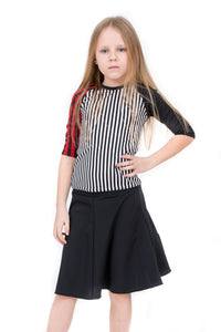 Mixed Stripe Kids 2-Piece