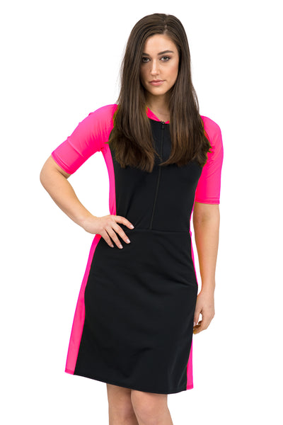 Pink and Black SURFSuit