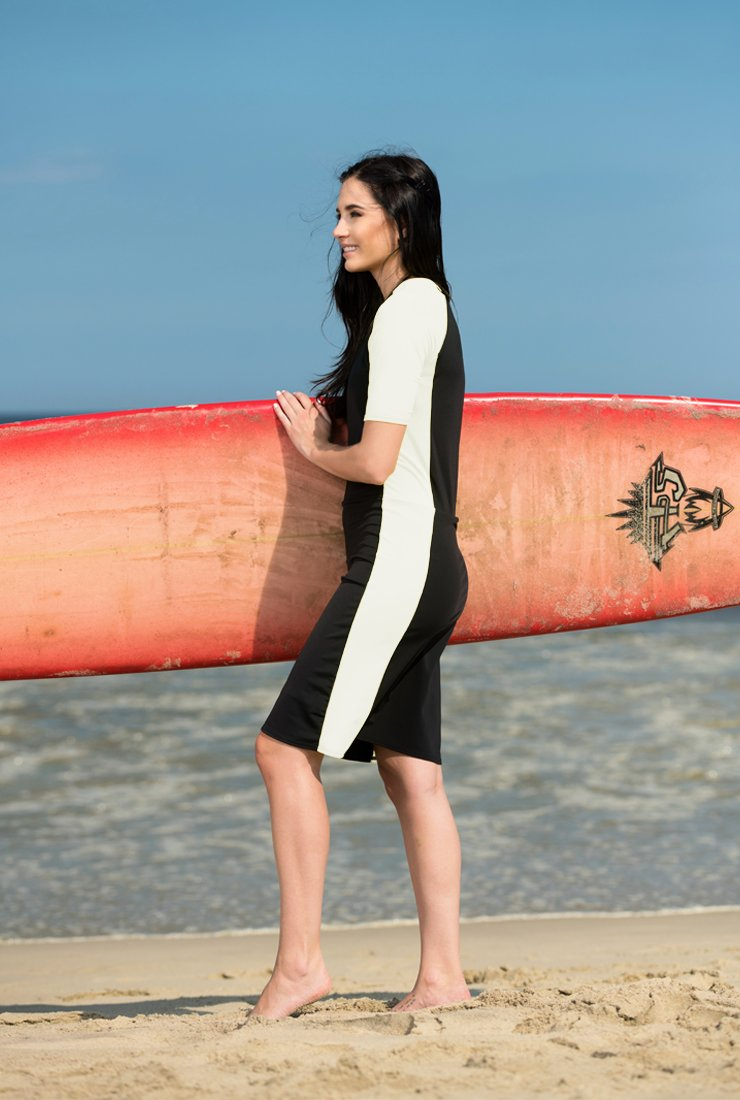 White and Black SURFsuit